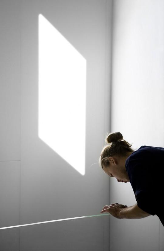 Simulation lumière naturelle d'une fenêtre pour pièce aveugle