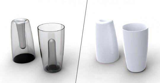 Vase à double sens