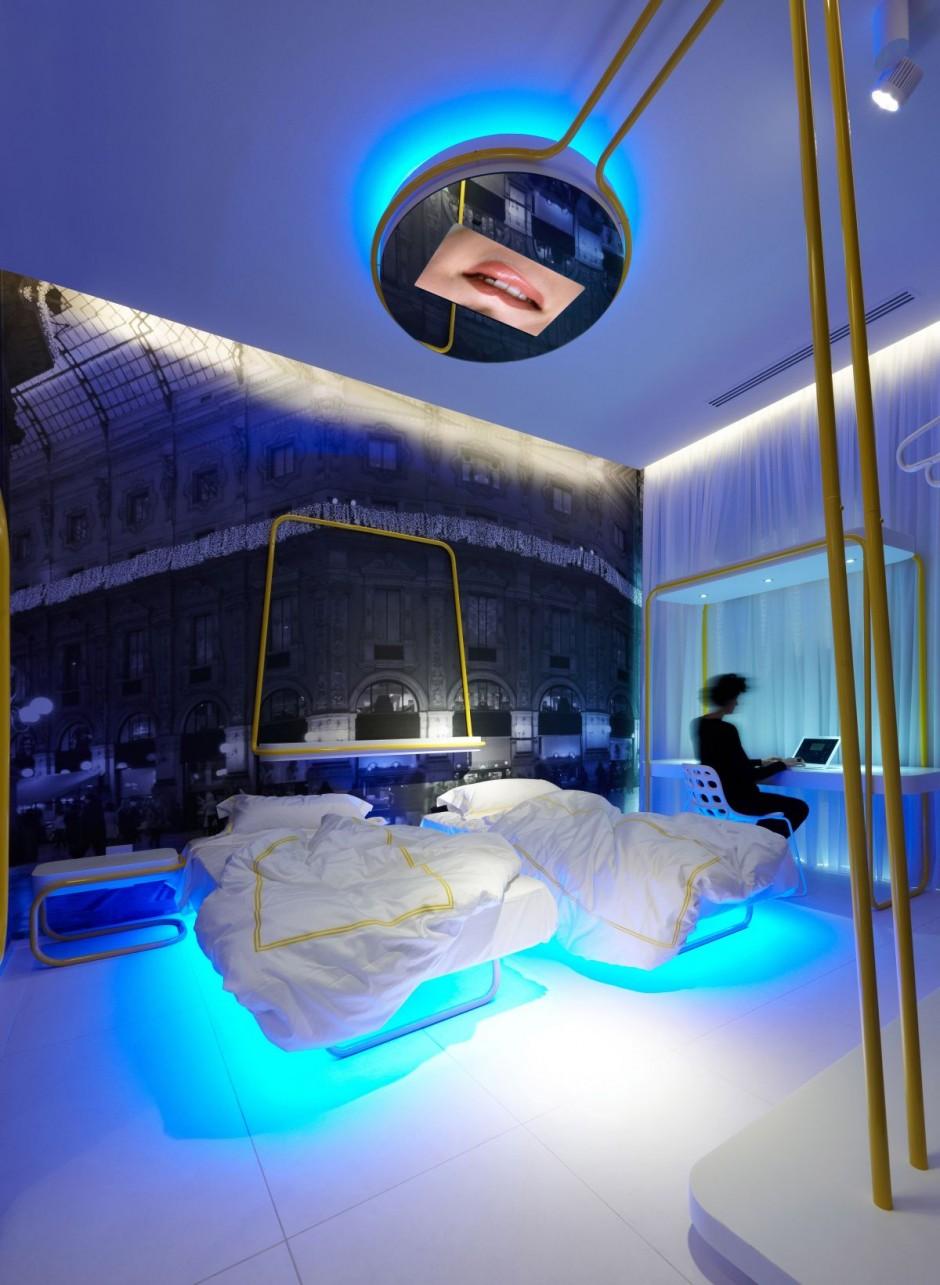 chambre designe. chambre design adulte laque bicolore. chambre et