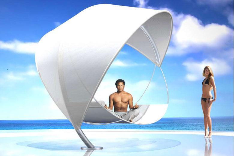 hamac design wave by royal botania. Black Bedroom Furniture Sets. Home Design Ideas