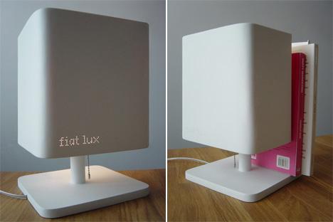 Lampe bibliothèque Fiat Lux