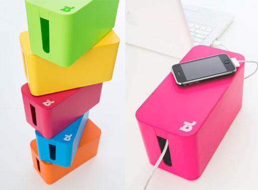 Cablebox mini - petit range cables design