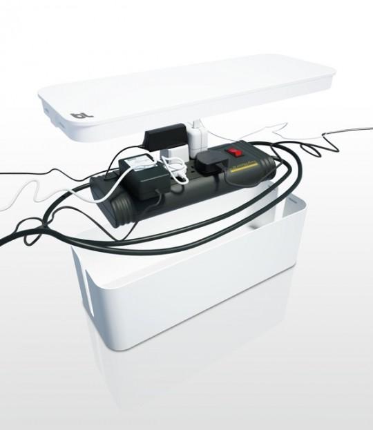 Cablebox, rangement pour cables et fils électriques design