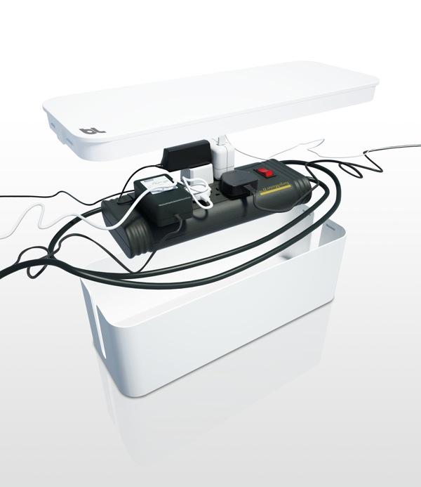 cablebox rangement pour cables et fils lectriques design. Black Bedroom Furniture Sets. Home Design Ideas