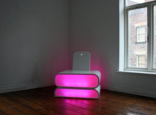 Mood chair par Aether Hemera