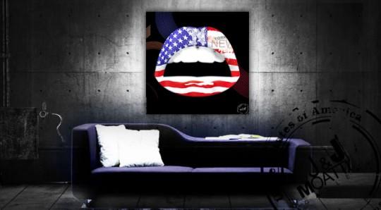 Tableau kiss USA