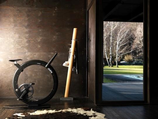 Vélo appartement intérieur design