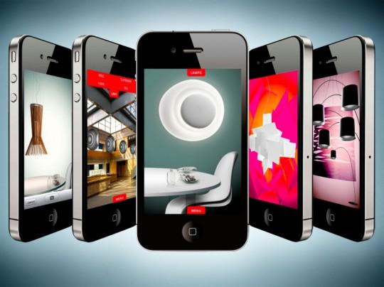 Ifoscarini l 39 application iphone de foscarini for Application miroir iphone
