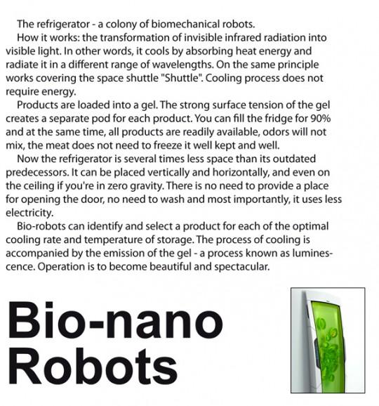 Bio nano robot