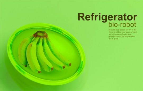 Bio robot refrigerator, le réfrigérateur du futur