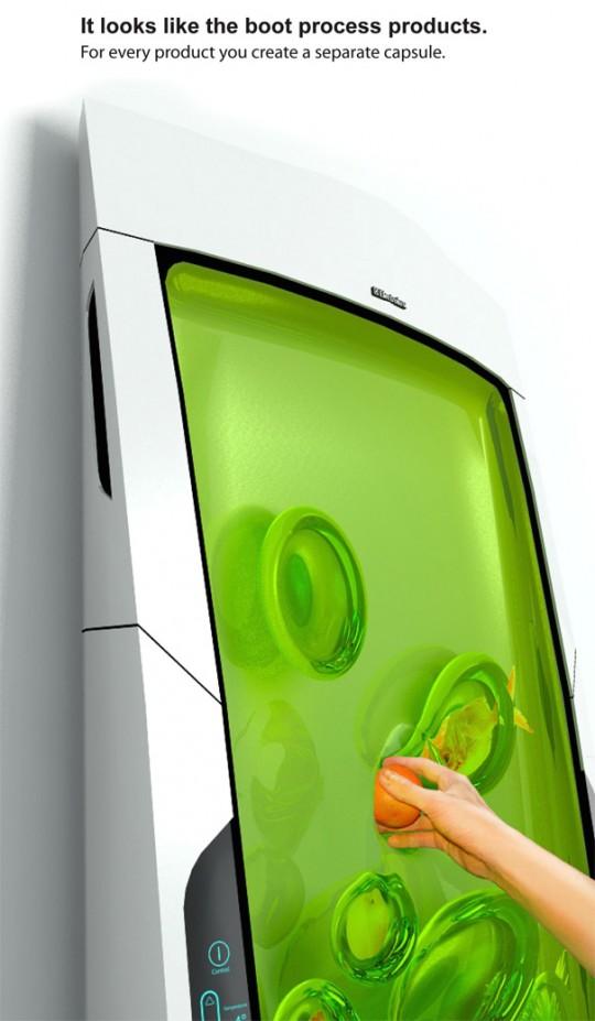 Bio robot refrigerator, le réfrigérateur au gel