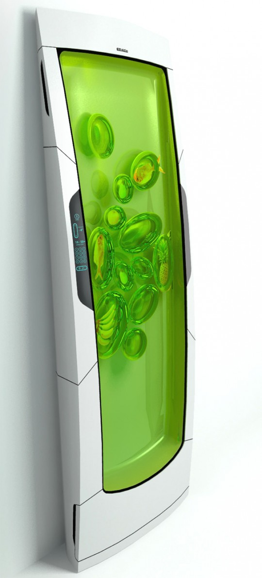 Bio robot refrigerator by Electrolux
