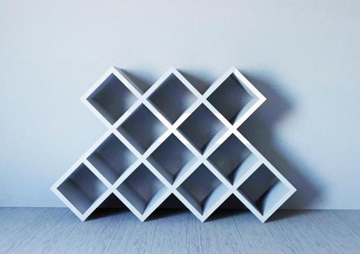 Etagères cubes Wassabi