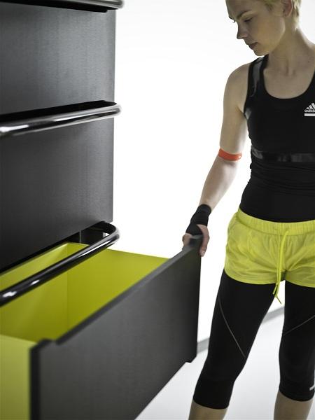 Home fitness meuble sport