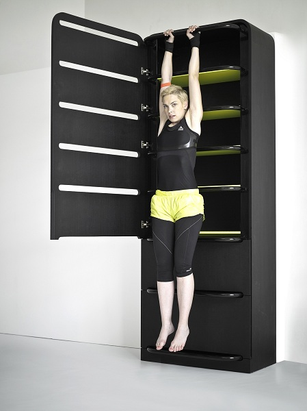 Home fitness meuble sportif
