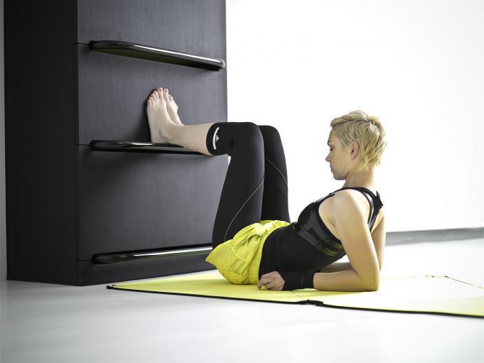 home fitness des meubles pour faire du sport la maison. Black Bedroom Furniture Sets. Home Design Ideas