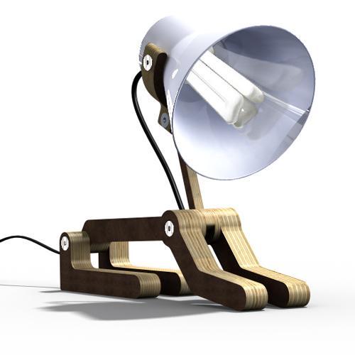 Lampe Waaf par Pierre Stadelmann