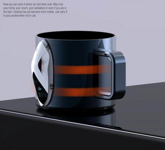 Snail concept - Electrolux design lab 2010