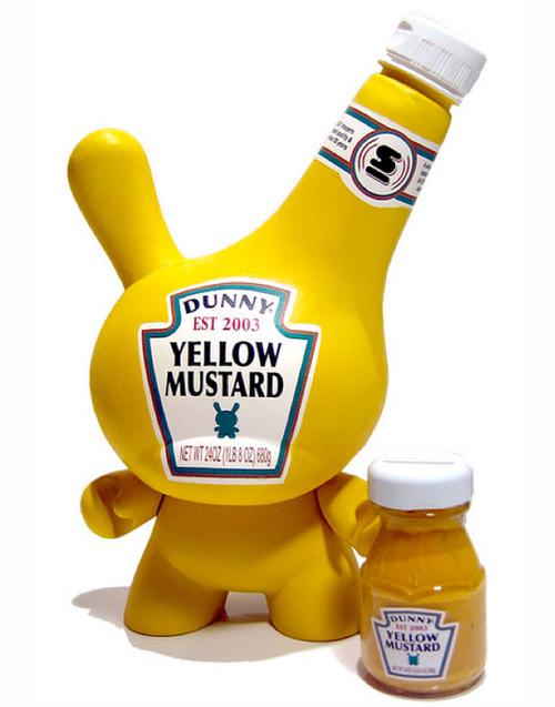 Dunny Yellow mustard