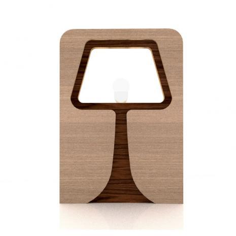 Lampe à poser en bois design Osborne