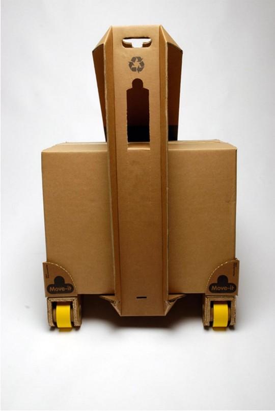 Move it - valise en carton