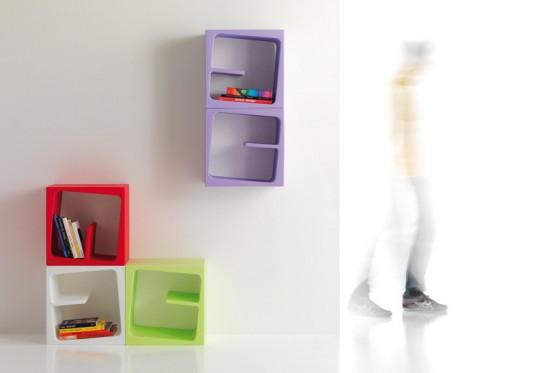 QUBY cube de rangement design