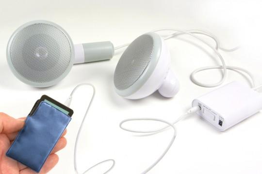 500 XL speakers - haut-parleurs pour iPod géants