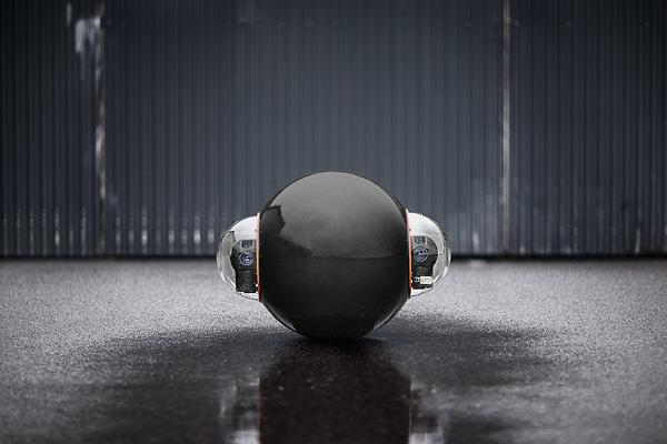 Groudbot by Rotundus | le robot boule qui fait de la vidéo-surveillance