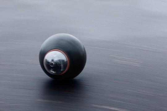 Groundbot Rotundus - Le robot en forme de boule qui roule