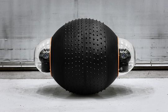 Groundbot - le robot boule de vidéo-surveillance