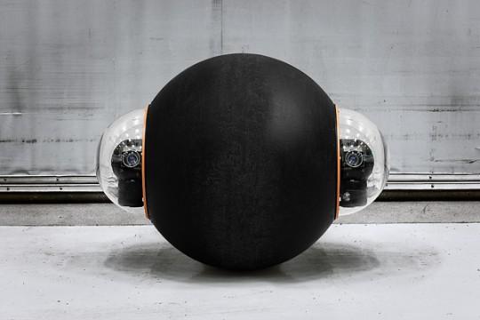 Groundbot - le robot boule qui surveille votre maison