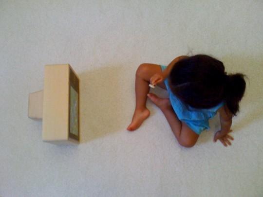 iPad rétro TV