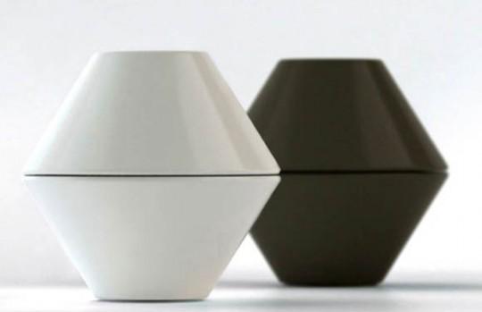 Lightpot noir et blanc by Shulab