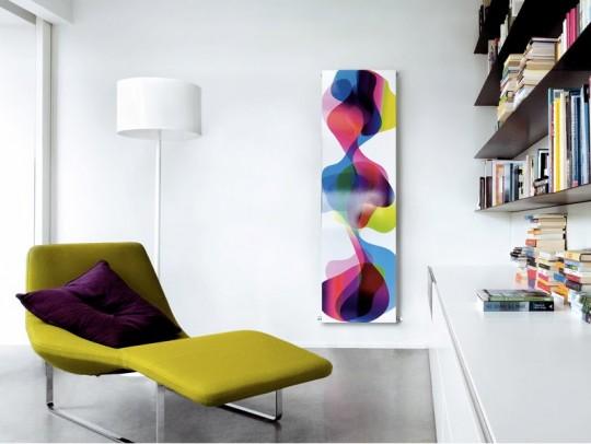 Radiateur design Caleido par Karim Rashid
