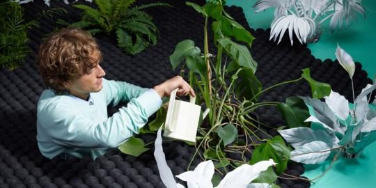 Tapis moderne avec des plantes par Limited edition