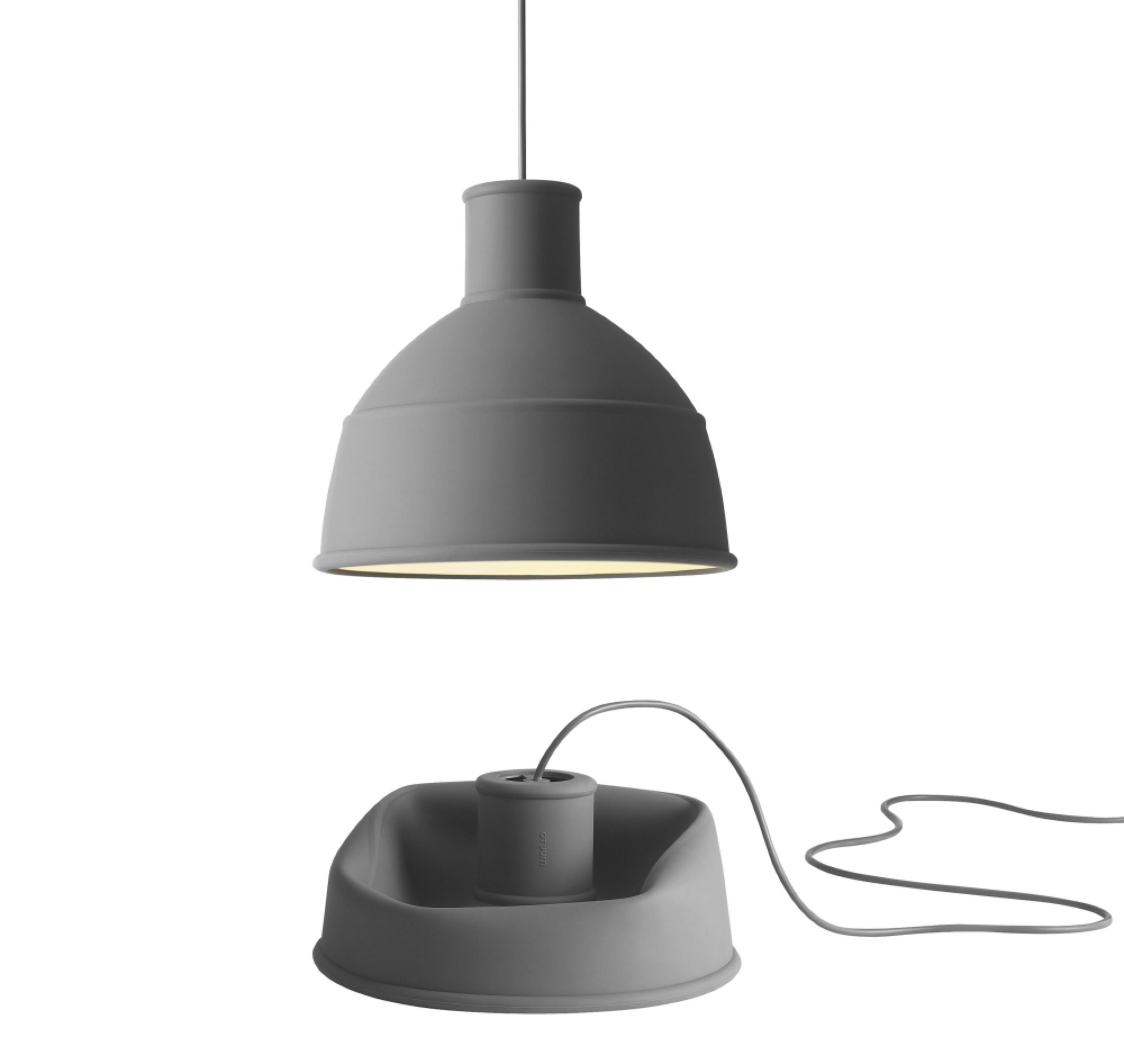 Muuto Unfold : Suspension souple en caoutchouc de silicone