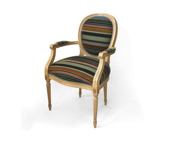 fauteuil louis xv customis par dransfield ross. Black Bedroom Furniture Sets. Home Design Ideas