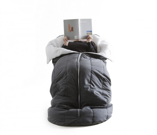 Fauteuil sac de couchage cocon