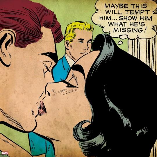 Affiche géante Comics Marvel