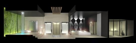 Exposition salle de bain Anijma Sonora - SPA design 2010