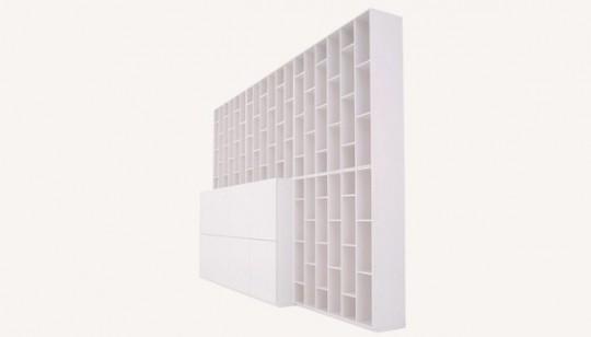 Bibliothèque modulable blanche Ligne Roset