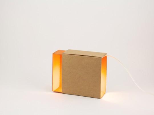Boite à lumière en carton