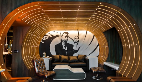 Chambre James Bond 007 Seven Hotel