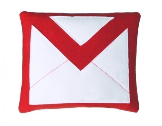 Coussin Gmail