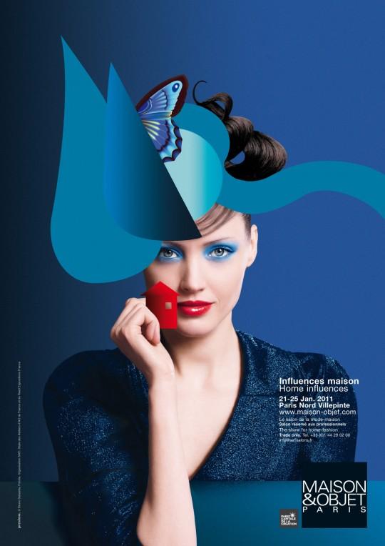 Affiche du salon Maison et objet Janvier 2011 - Paris
