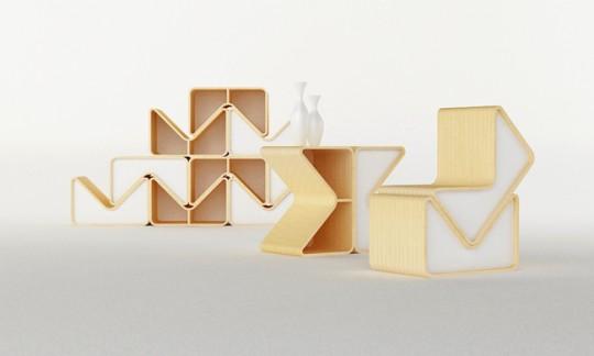 Bibliothèque modulaire Pacman