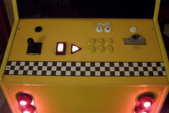 Borne jeu vidéo arcade vintage