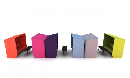 Buzzihub, alcôve design pour le bureau