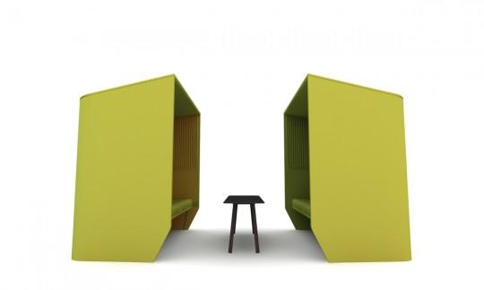 Buzzihub, salle de conférence mobile