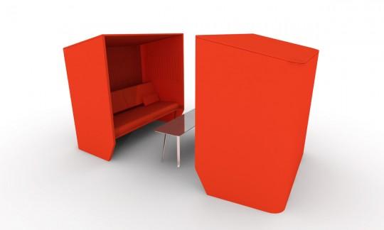 Buzzihub, salle de réunion mobile